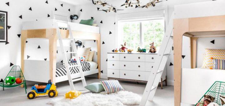 Оформление и дизайн детской комнаты