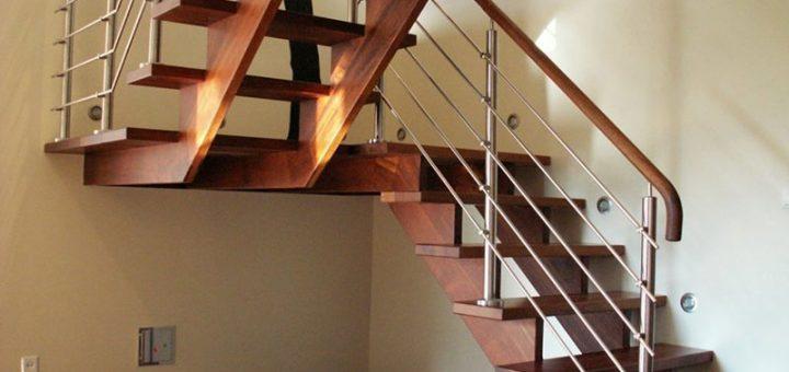 Как сделать лестницу в частном доме