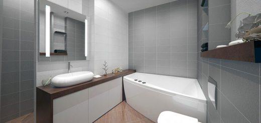 ванная комната минимализм