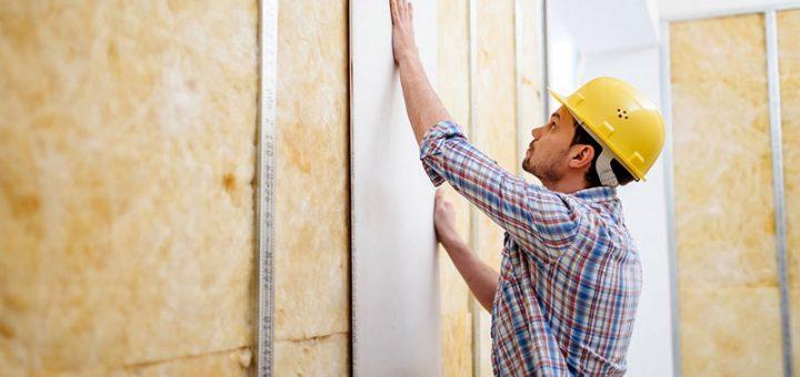 Как выровнять стену гипсокартоном