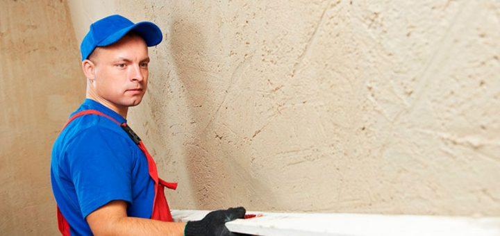 Как выровнять стену штукатуркой